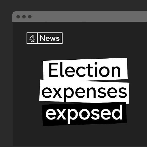 Channel 4 News: Election Expenses