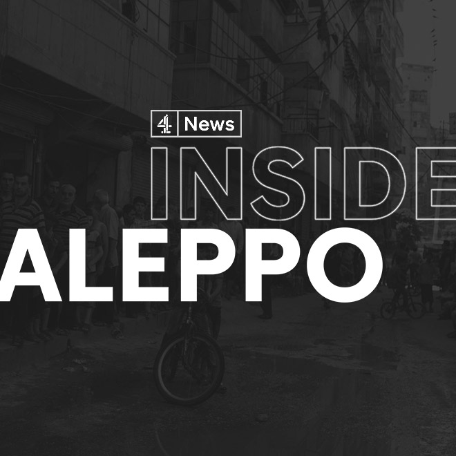 Channel 4 News: Inside Aleppo